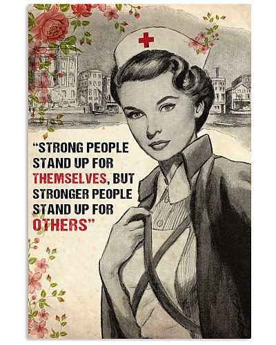 Nurse Strong People Stand Up