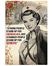 Nurse Strong People Stand Up 11x17 Poster front
