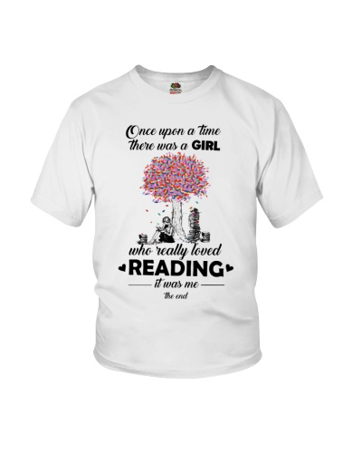 Once Upon Book Girl Under Tree