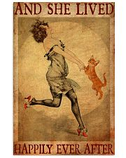 Cat Gold And She Lived Happily Ever After 11x17 Poster front