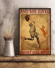 Cat Gold And She Lived Happily Ever After 11x17 Poster lifestyle-poster-3