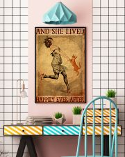 Cat Gold And She Lived Happily Ever After 11x17 Poster lifestyle-poster-6