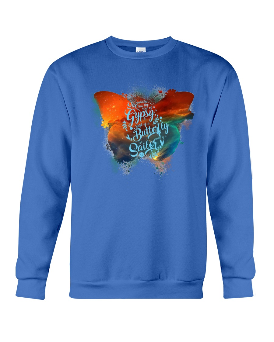 I HAVE THE SPIRIT OF A BUTTERFLY Crewneck Sweatshirt