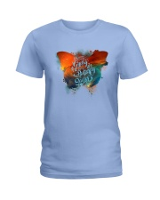 I HAVE THE SPIRIT OF A BUTTERFLY Ladies T-Shirt front