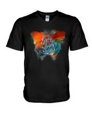 I HAVE THE SPIRIT OF A BUTTERFLY V-Neck T-Shirt thumbnail