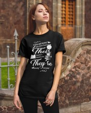 Teacher There Their They Classic T-Shirt apparel-classic-tshirt-lifestyle-06