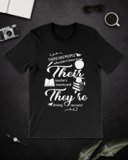 Teacher There Their They Classic T-Shirt lifestyle-mens-crewneck-front-16