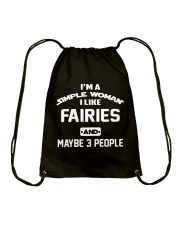 I like fairies Drawstring Bag tile