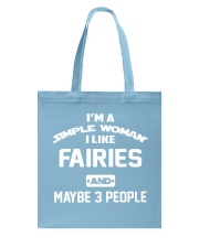 I like fairies Tote Bag front