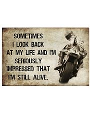 MOTORCYCLE I'M STILL ALIVE 24x16 Poster front