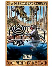 Happily Pit Bull On The Car 11x17 Poster front