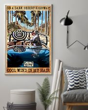 Happily Pit Bull On The Car 11x17 Poster lifestyle-poster-1