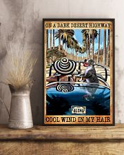 Happily Pit Bull On The Car 11x17 Poster lifestyle-poster-3
