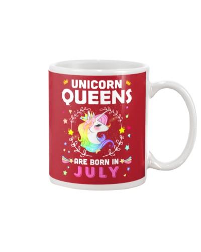 Unicorn Queens Are Born In July
