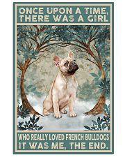 French Bulldog Gold Once Upon A Time 11x17 Poster front