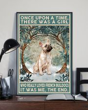 French Bulldog Gold Once Upon A Time 11x17 Poster lifestyle-poster-2