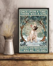 French Bulldog Gold Once Upon A Time 11x17 Poster lifestyle-poster-3
