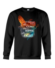 I am a January Woman Crewneck Sweatshirt thumbnail