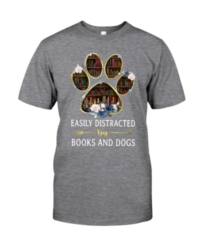 Book Easily Distracted By Books And Dogs