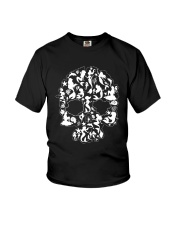 Mermaid skull Youth T-Shirt thumbnail