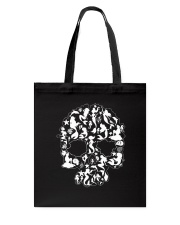Mermaid skull Tote Bag thumbnail