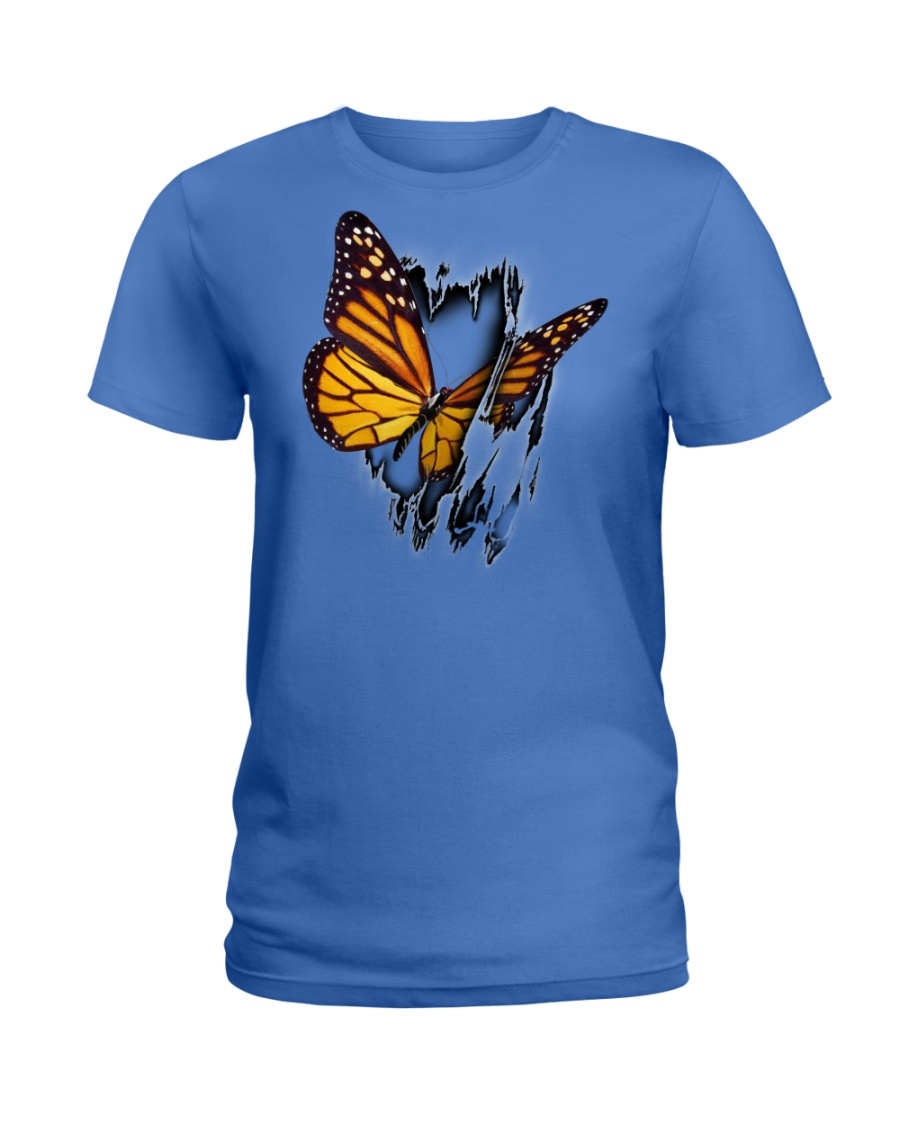 BUTTERFLY INSIDE ME Ladies T-Shirt