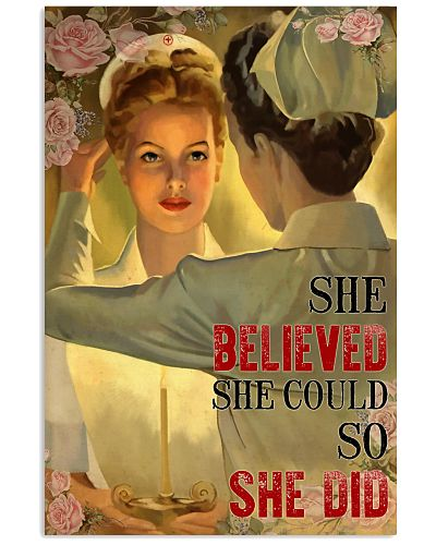 Nurse She Believed She Could So She Did