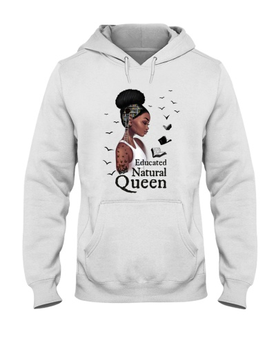 Book Educated Natural Queen Black Girl
