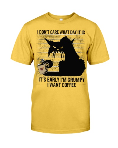 Coffee Grumpy Want Coffee