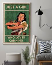 Canning Just A Girl Loves Canning 11x17 Poster lifestyle-poster-1