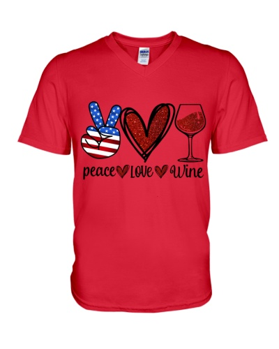 Wine Peace Love Twinkle