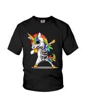 Unicorns Skeleton Youth T-Shirt thumbnail