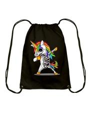 Unicorns Skeleton Drawstring Bag thumbnail