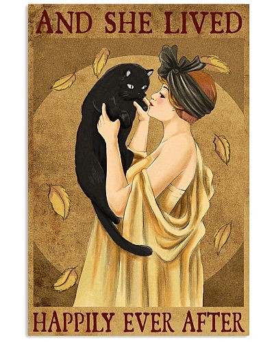 Cat And She Lived Happily France Art