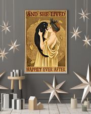 Cat And She Lived Happily France Art 11x17 Poster lifestyle-holiday-poster-1