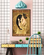 Cat And She Lived Happily France Art 11x17 Poster lifestyle-poster-6