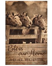 Horse Bless Our Home 11x17 Poster front