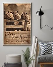 Horse Bless Our Home 11x17 Poster lifestyle-poster-1