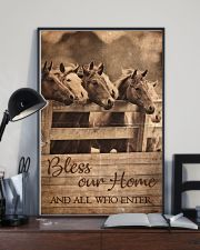 Horse Bless Our Home 11x17 Poster lifestyle-poster-2
