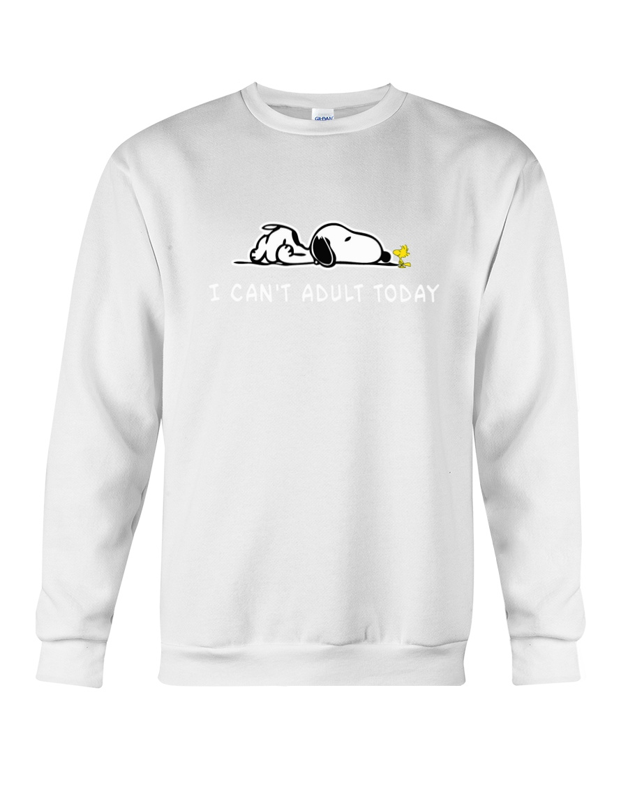 SN can't adult Crewneck Sweatshirt