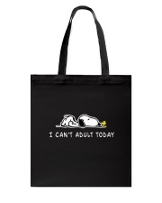SN can't adult Tote Bag thumbnail