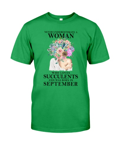 Never Underestimate A Woman Was Born In September