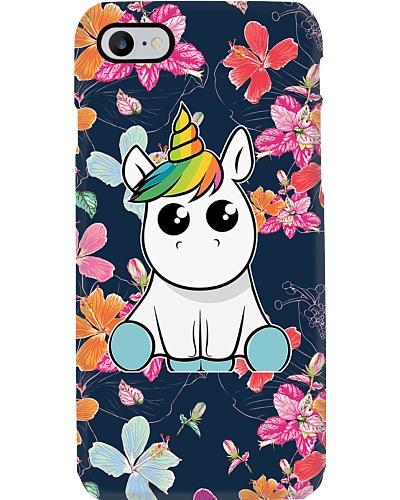 Unicorn Happy Flower Phone Case