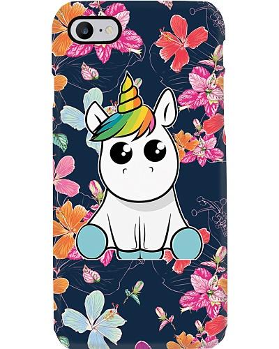 Unicorn Happy Flower Phone Case