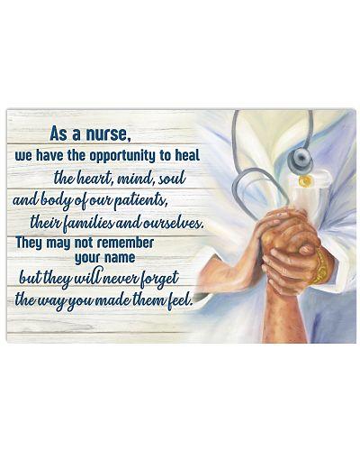 As A Nurse