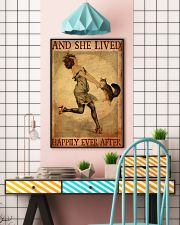 British Longhair And She Lived Happily Ever 11x17 Poster lifestyle-poster-6