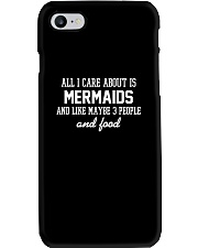 All I care about is Mermaid Phone Case tile