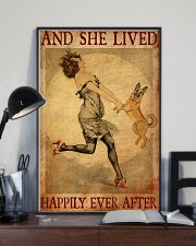 Gsd And She Lived Happily Ever After 11x17 Poster lifestyle-poster-2