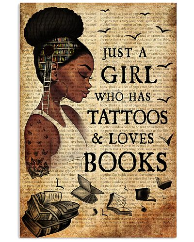 Book Black Girl Just A Girl Who Has Tattoos