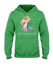 Unicorn I Am Expensive Hooded Sweatshirt front
